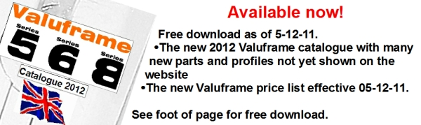 New aluminium catalogue