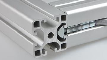 aluminium extrusion connector no drilling